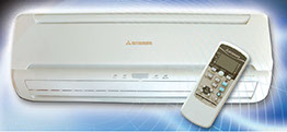 Mitsubishi Mini Split Ductless Air Conditioning